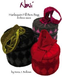 Noni Harlequin Pill Box Bag - A Felting Pattern