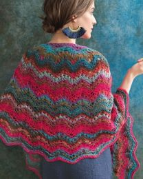 Noro Knitting Magazine - Kureyon - Seashell Ripple by Susan Ashcroft