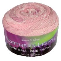 James C. Brett Northern Lights DK - Tea Rose (Color #NL08)