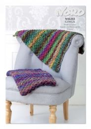 Small & Large Throws (Free Download with a Noro Ginga purchase of 8 or more skeins)