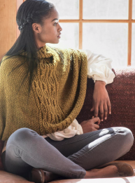 Oakham: Included in Berroco Skye Pattern Book #398 - Free With Purchase of 5 Skeins of Skye