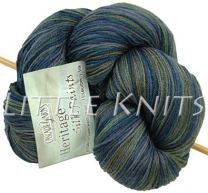 Cascade Heritage Silk Hand Paints - Shadows (Color #9751)