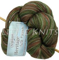 Cascade Heritage Silk Hand-Paints - Forest Glenn (Color #9953)