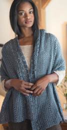 Pemberly: Included in Berroco Skye Pattern Book #398 - Free With Purchase of 6 Skeins of Skye