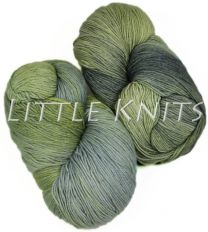 Schaefer Marjaana Hand-dyed by Fly Designs for Little Knits - Peridot
