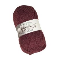 West Yorkshire Spinners Bluefaced Leicester Aran - Pomegranate (Color #569) - FULL BAG SALE (5 Skeins)