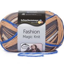 Schachenmayr Fashion Magic Knit - Tiger Stripe (Color #80) - FULL BAG SALE (5 Skeins)
