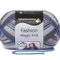 Schachenmayr Fashion Magic Knit - Coral Stripe (Color #82)