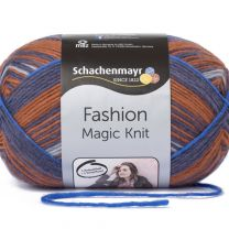 Schachenmayr Fashion Magic Knit - Terracotta Stripe (Color #83) - FULL BAG SALE (5 Skeins)