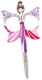 Embroidery Angels Scissors - Pink Butterflies