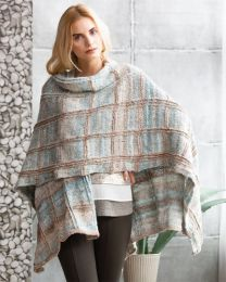 Plaid Ruana - FREE Purchase of Noro Tennen (One free pattern per purchase please)