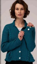 Bessie Striped Pullover (Purchase ONLY ONE COPY to get all the patterns from Herriot by Susan Gibbs)