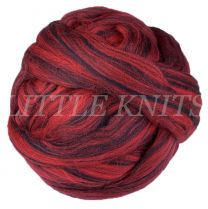 Brown Sheep Superwash Wool Roving - Red & Black (Price is for 4 Ounce Bundles)