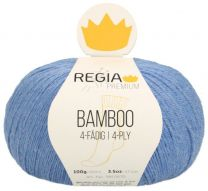Regia Premium Bamboo - Denim (Color #55) - FULL BAG SALE (5 Skeins)