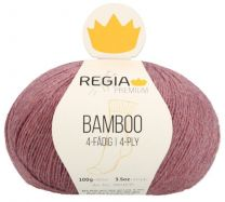 Regia Premium Bamboo - Russet Red Heather (Color #83)