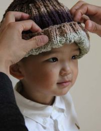 Ribbed Hat - Free with Purchase of 1 Skein of Noro Kureopatora (PDF File)