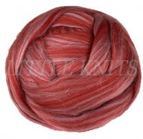 Brown Sheep Superwash Wool Roving - Red Fog (Price is for 4 Ounce Bundles)