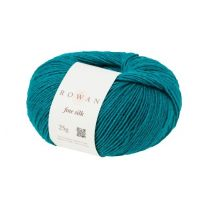 Rowan Fine Silk - Teal (Color #104)