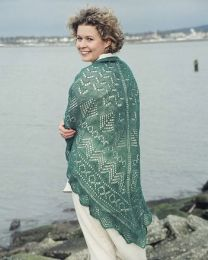 Fiber Trends - Pacific Northwest Shawl