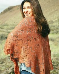 Fiber Trends - Spirit of the Southwest Shawl