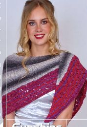 Ella Shawl - FREE with Purchases of 3 or More Skeins of Sunshine Coast/Please add to cart for a PDF copy
