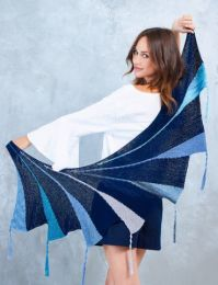 Short-row Shawl - Free pattern for Ombre & Catania - LINK TO DOWNLOAD IN DESCRIPTION (No Need to Add to Cart)
