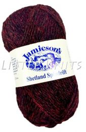 Jamieson's Shetland Spindrift - Ruby (Color #242)