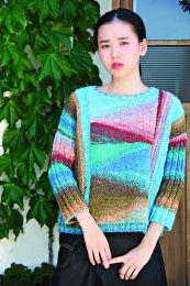 Short Row Sweater - Free with Purchases of 8 Skeins of Noro SIlk Garden (Pdf File)