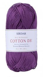 Sirdar Cotton DK - Silky Purple (Color #512)