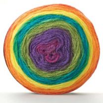 Sirdar Colourwheel - Rainbow (Color #202) - Big 150 Gram Cakes!