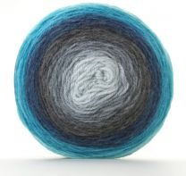 Sirdar Colourwheel - Deep Blue Sea (Color #204) - Big 150 Gram Cakes!