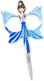 Embroidery Angels Scissors - Sky Blue