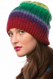 Slouchy Beanie - Free with Purchase of 1 Skein of Noro Kureopatora (PDF File)