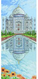 Anchor Counted Cross Stitch Kit - The Taj Mahal