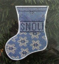 Kreinik Ornament of the Month Club - Snow Falling on Paper