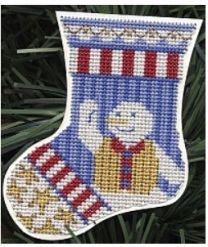Kreinik Ornament of the Month Club - Snow Patriot