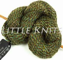 Rio de la Plata Sock Multi-ply Kettle Dyed - Color #SC47 -  Green Port Royal and Olive Plied Together