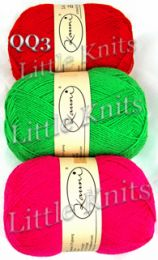 Kauni Brights Palette - Color LL - Neon Pink (Last skein from the top)