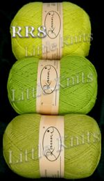Kauni Green Palette #2 - Neon Yellow-Green - Color RR8