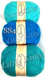 Kauni Blue Palette #2 - Color SS4 (Second skein from the top)