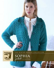 Sophia Jacket - A Juniper Moon Stargazer Pattern - FREE WITH PURCHASES OF 8 OR MORE SKEINS OF Stargazer (PDF File)