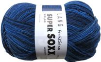 !Lang Jawoll Fruit Soxx - Navy Twilight (Color #246)