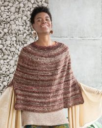 Steeked Poncho (Free Download with Noro Kotori Purchase of 5 or more skeins)