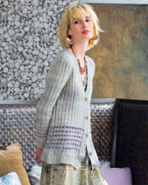 Striped Cardigan - FREE Purchase of Noro Tennen (One free pattern per purchase please)