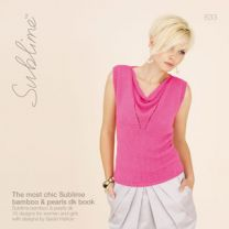 Sublime (Booklet 633) - The Most Chic Sublime Bamboo & Pearls DK Book