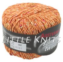 Austermann Summer Tweed - Silky Persimmon (Color #002)