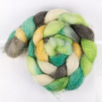 DragonFibers Superwash Blue Face Leicester - Spring Meadow