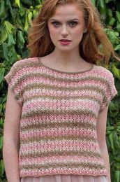 Raine Top - FREE with Purchases of 3 or More Skeins of Sunshine Coast/Please add to cart for a PDF copy