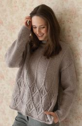 Kay - Included in the Rowan Timeless Cocoon Pattern Booklet