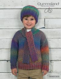Sweater, Hat and Scarf - Free with Purchase of 5 Skeins of Queensland Brisbane (PDF File)